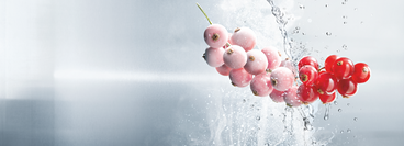 Picture shows currants frozen with CRYOLINE technology