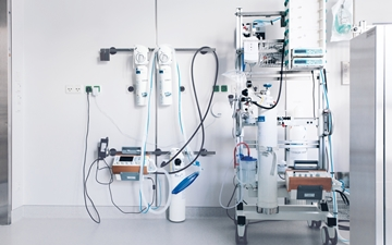 With the Linde Technology COBALT, mobile ventilators,